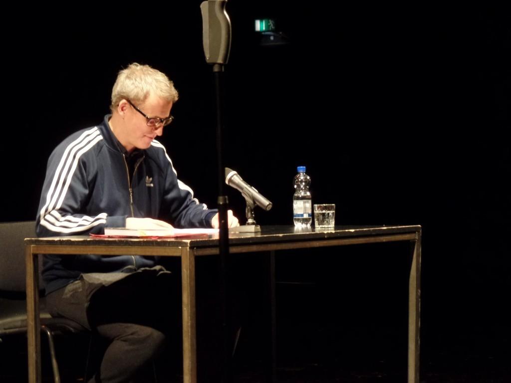04.01.2016 - Auftakt zur 5. Poetikdozentur für Dramatik: Falk Richter